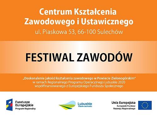 plakat festiwal zawodów
